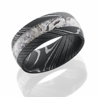 Damascus Steel and Kings Snow Camo Ring by Lashbrook Designs