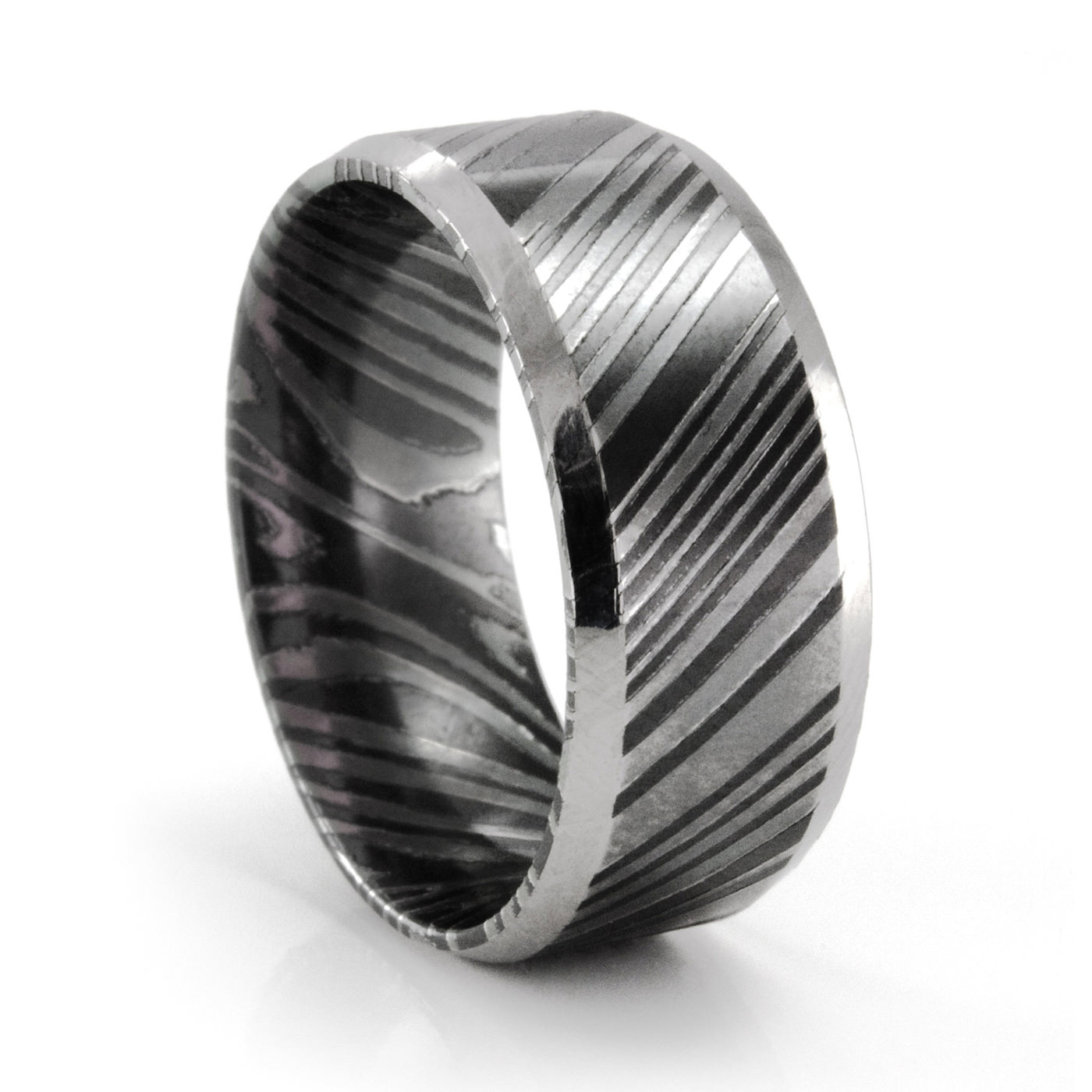 rings mens black banded fine elegant ring uk antique male wedding men