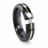EDWARD MIRELL Black Titanium, 18K and Diamond Ring