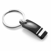 Edward Mirell WELLINGTON Black Titanium and Sterling Silver Key Ring
