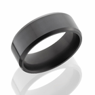 ELYSIUM Solid Diamond Ring Flat Profile Polished Finish by Lashbrook - Ares