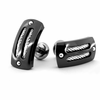 EM SPORT Cufflinks - Midnight Black & Silver