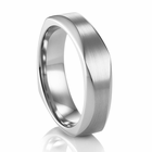 Faceted Palladium Ring by COGE