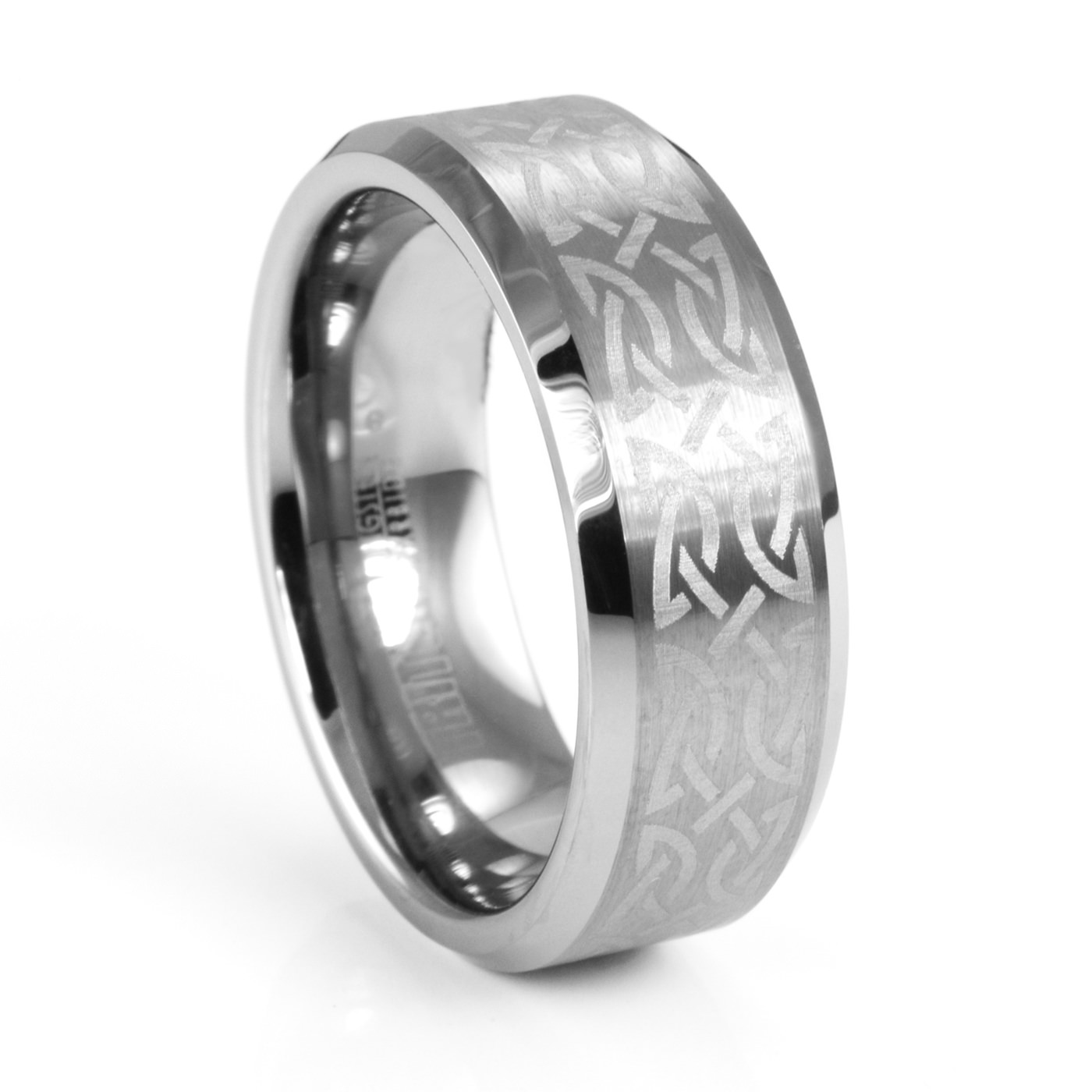 ring wedding design rings tr men triton gaelic carbide celtic engraved s by tungsten