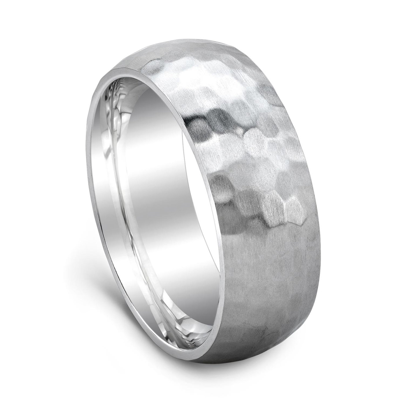 grooves and diamond white brushed products with rings wedding ring straight center cobalt