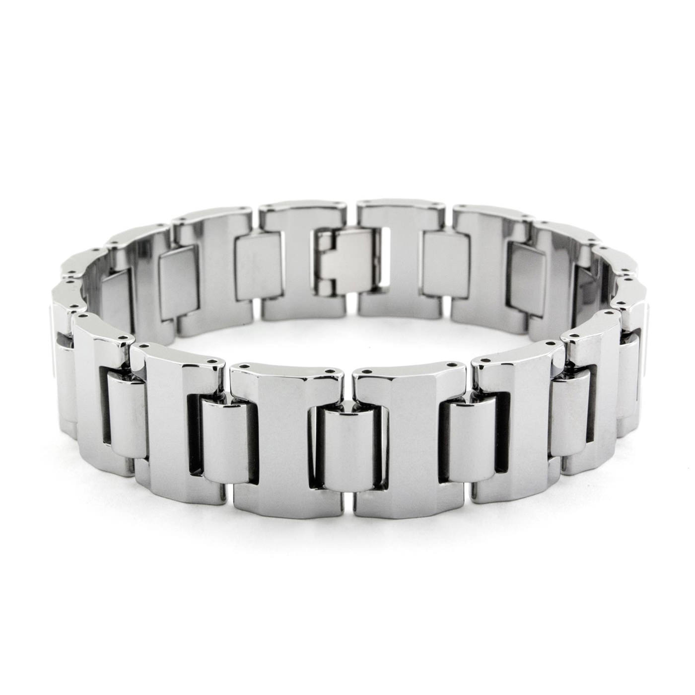 men tungsten fiber magnetic s carbon inlay carbide en bracelets bracelet