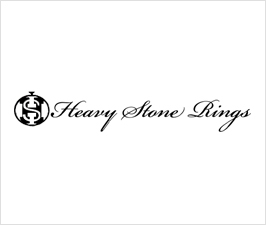 Heavy Stone Rings -  Made in USA