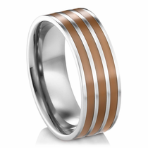 HENESSEY Titanium Wedding Band