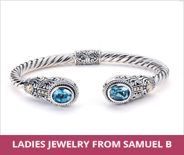 Ladies Sterling Silver Samuel B Jewelry