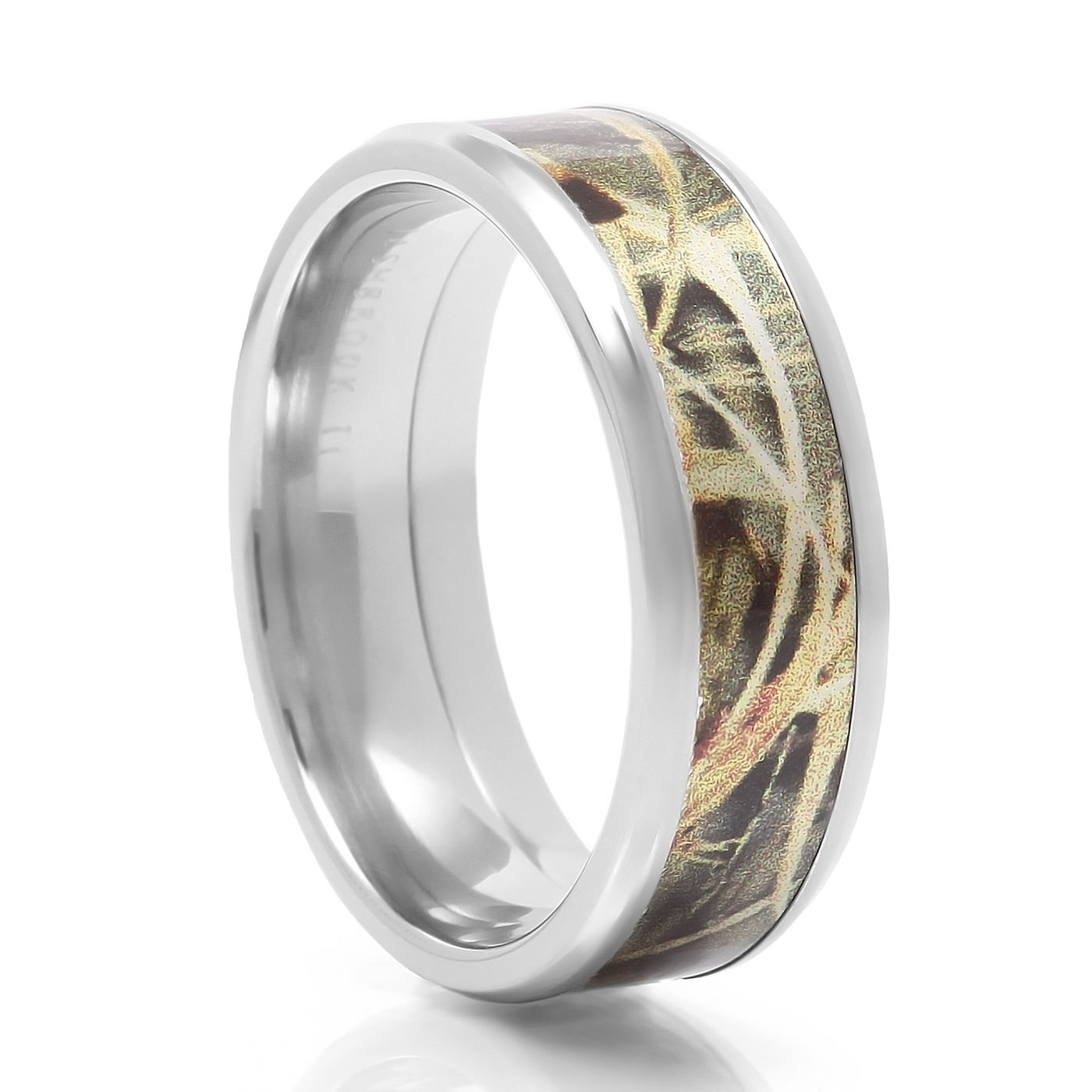 lashbrook designs cobalt camo wedding band max 4 - Cobalt Wedding Rings