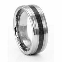 MANNING Carbon Fiber and Tungsten Carbide Ring by TRITON