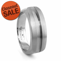 Men's Titanium Fashion Ring