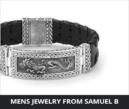 Mens Sterling Silver Samuel B Jewelry