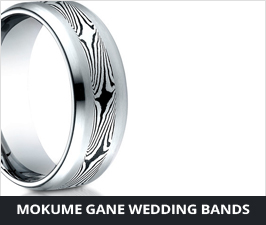 Mokume Gane and Tungsten Rings