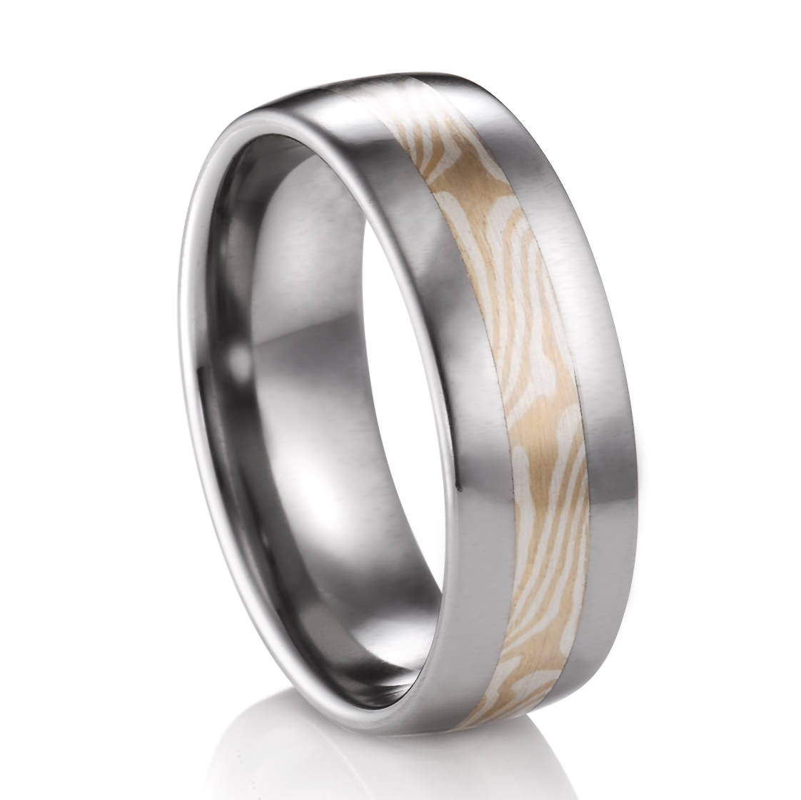 gane jewelry by rings johan copper and mokume titanium with ring silver products