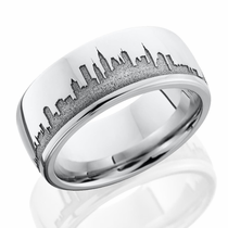 New York Skyline Ring by Lashbrook Designs