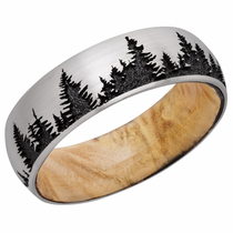 Pine Tree Ring by Lashbrook Designs