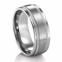 REGENT Titanium Wedding Band