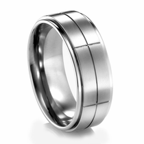 REMINGTON Titanium Wedding Band