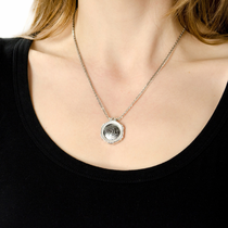 Small Round Timoku Disc Necklace
