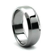 SONATO Tungsten Wedding Band by Heavy Stone Rings