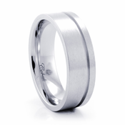TAIT Cobalt Chrome Ring by Heavy Stone Rings