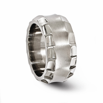 TEMPLAR Titanium Ring 12mm Wide by Edward Mirell