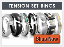 Tension Set Rings