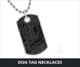 Titanium Dog Tag Necklaces