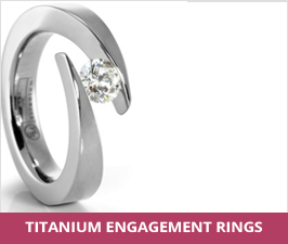 Titanium Engagement Rings