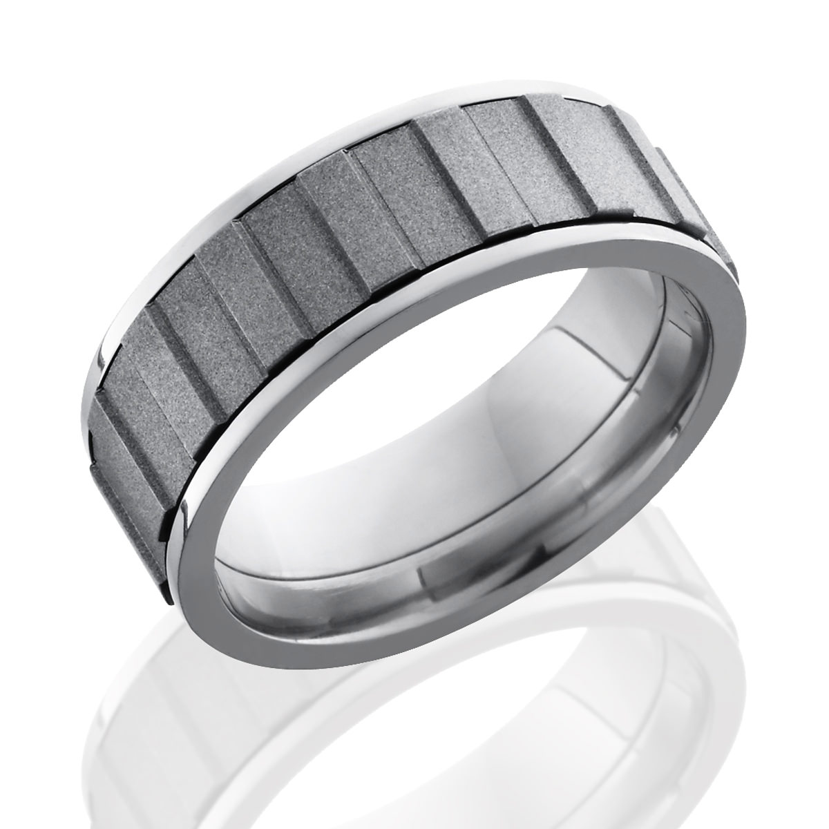 Gear Spinner Titanium Ring Lashbrook Titanium Ring