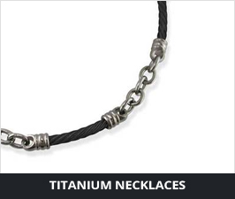 Titanium Necklaces for Men