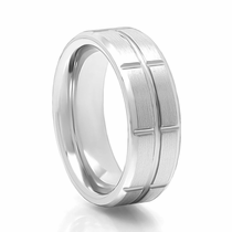 TORQUE Vitalium Wedding Band