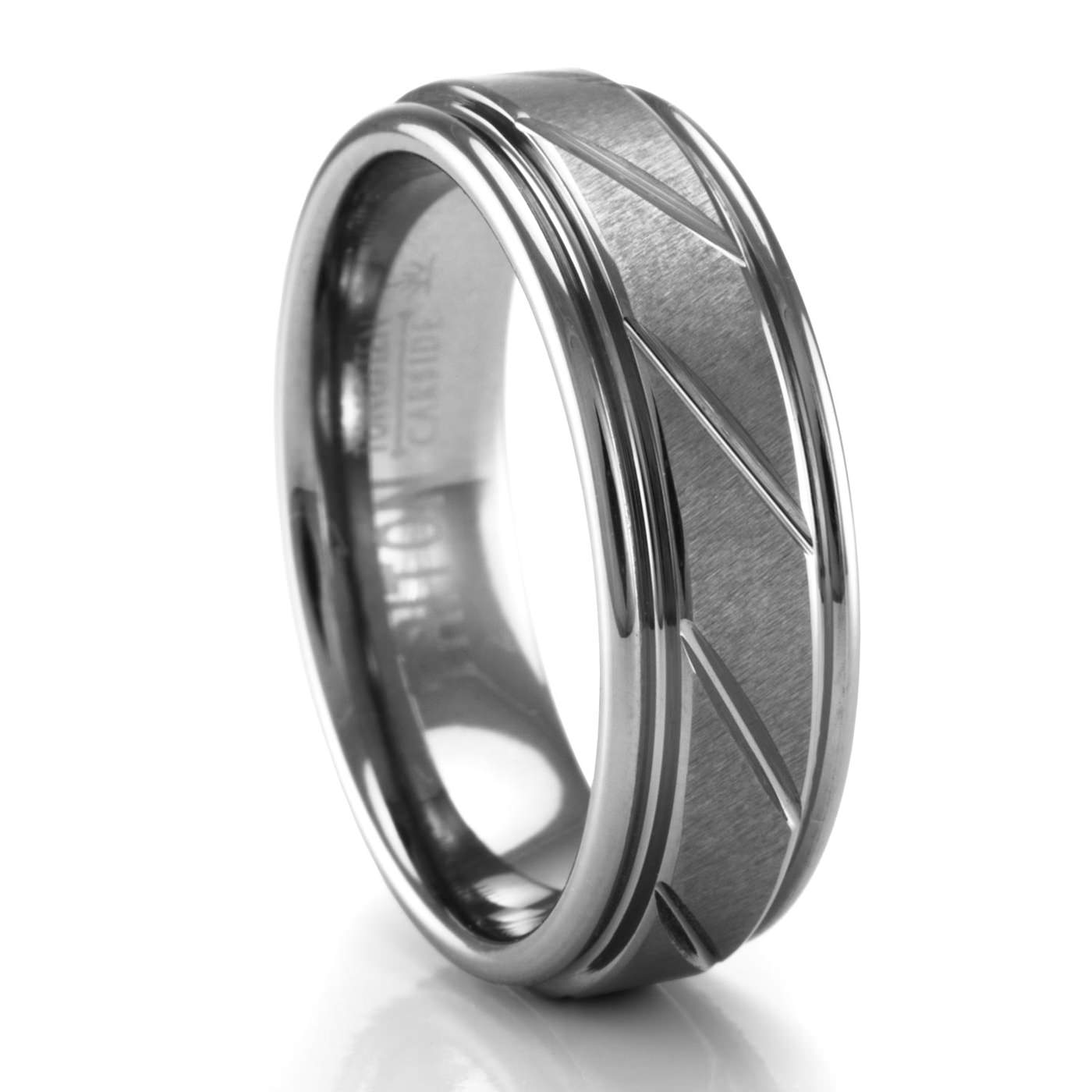 lovely triton men mens black inspirational bands of tungsten size full rings wedding