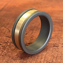 Triton RAW 14K Yellow Gold Ring
