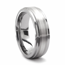 TRITON Tungsten & Platinum Ring - CASSO