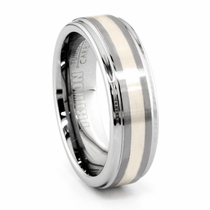 TRITON Tungsten Wedding Band Blithe