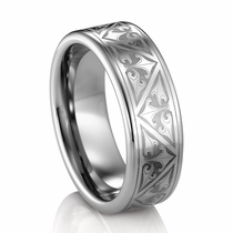 TRITON�  Tungsten Wedding Band - TRION