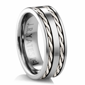 Titanium Rings and Jewelry  Unique Men's Wedding Bands  30