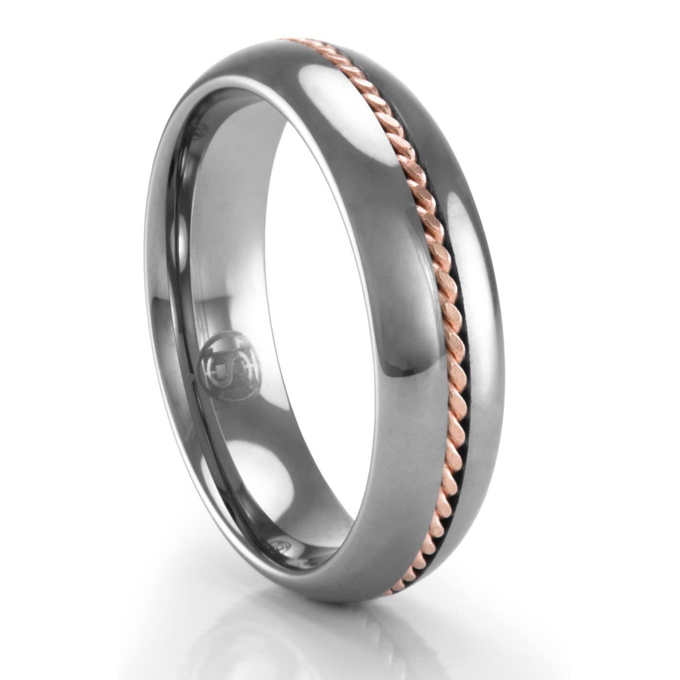 meteorite rings by mokume cobaltium collections johan jewelry tungsten
