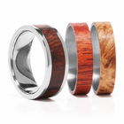 TWIST Titanium Ring With Interchangeable Inlays