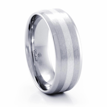 ZANDER Cobalt Chrome Ring by Heavy Stone Rings