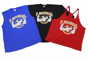 T. Micheal 3 Pack- 1 Stringer Tank Top, 1 Muscle Shirt, 1 Big Top - Style 107Pack- Sold Out
