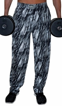 Crazee Wear Classic Relaxed Fit Baggy Pants- Black Tide