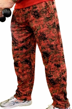 Crazee Wear Classic Relaxed Fit Baggy Pants- Burn Out