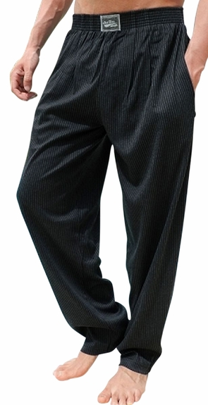Crazee Wear Classic Relaxed Fit Baggy Pants- Lines