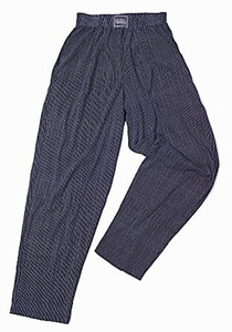 Crazee Wear Classic Relaxed Fit Baggy Pants- Wall Street