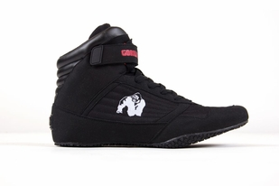 Gorilla Wear High Top Shoes- Black