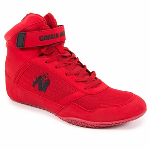 Gorilla Wear High Top Shoes- Red
