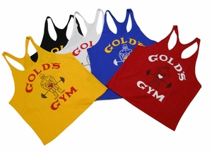 "Gold's Gym ""Old Joe"" Stringer Tank Top- #ST-2"